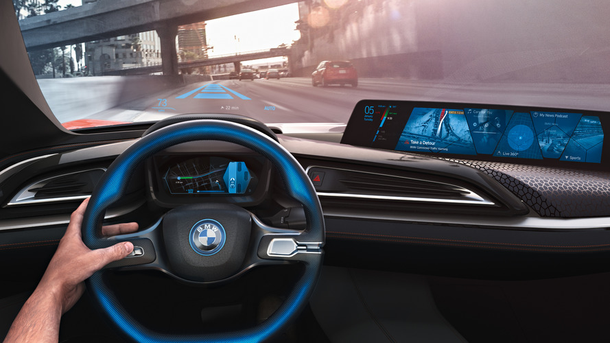 BMW, Intel, and Mobileye press event