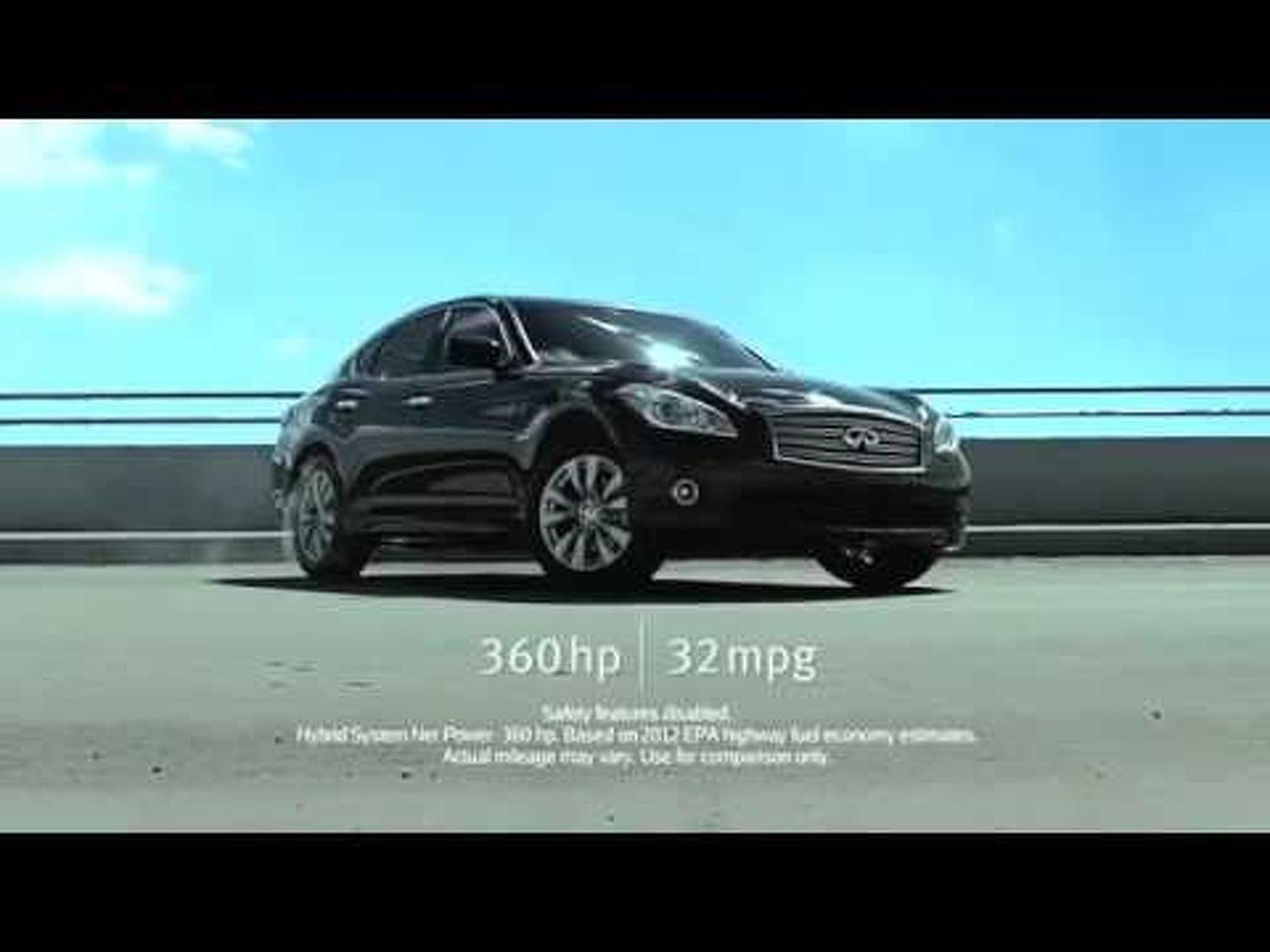 Infiniti M Hybrid Commercial