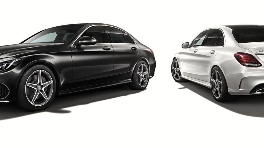 mercedes c 200 sports edition unveiled for japan. Black Bedroom Furniture Sets. Home Design Ideas