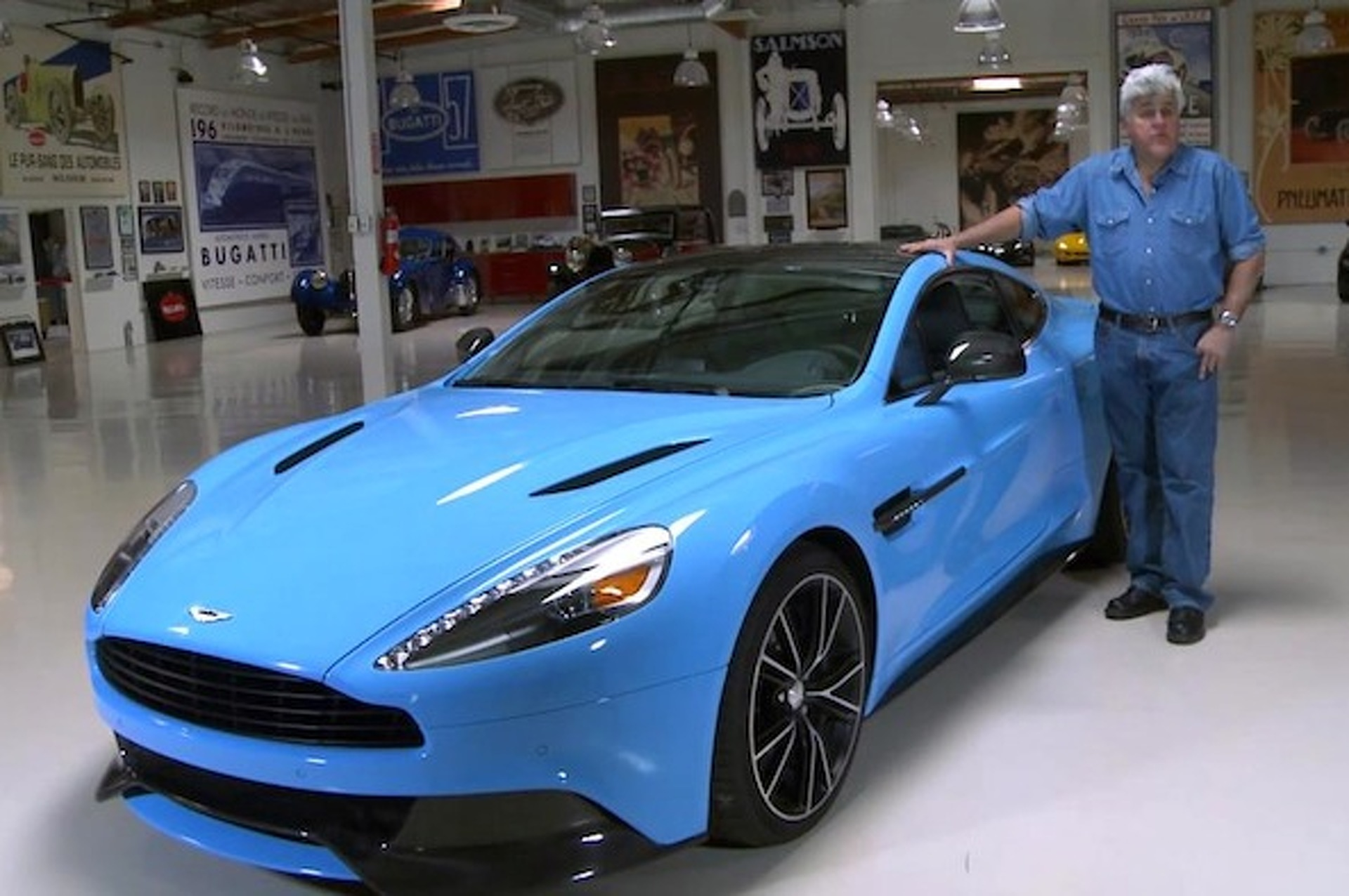 What S Inside Jay Leno S Garage