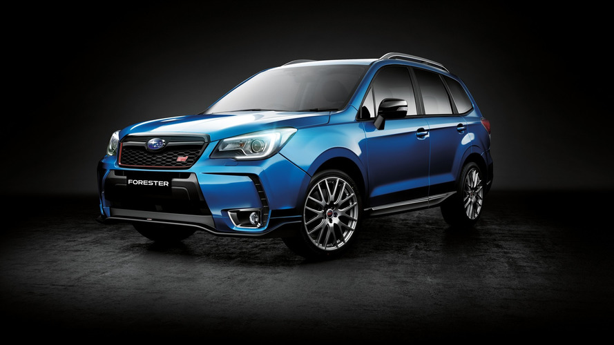 Subaru Forester tS heading to Australia with STI goodies