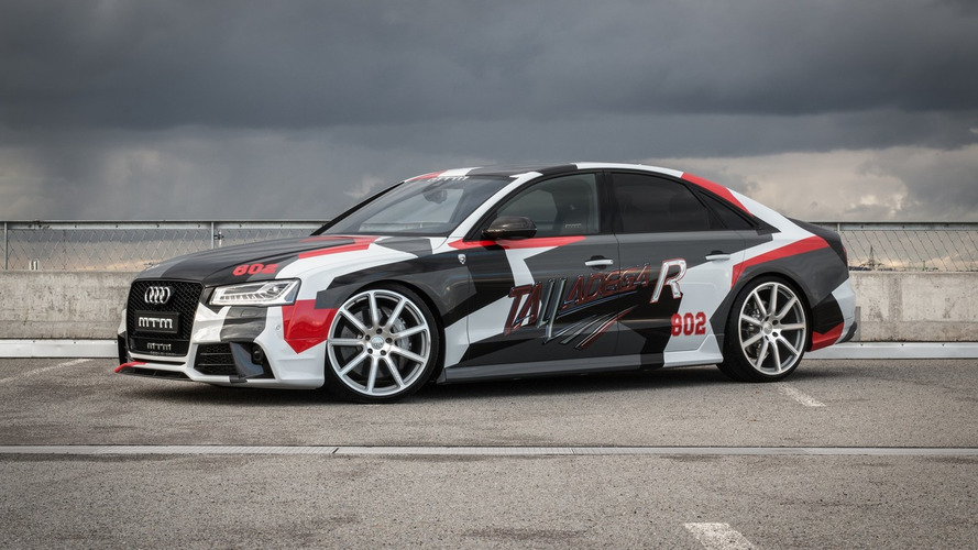 MTM 802-hp Audi S8 Talladega R costs $243k