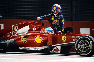 F1 Driver Picks Up 'Hitchhiker' at Singapore GP [w/video]
