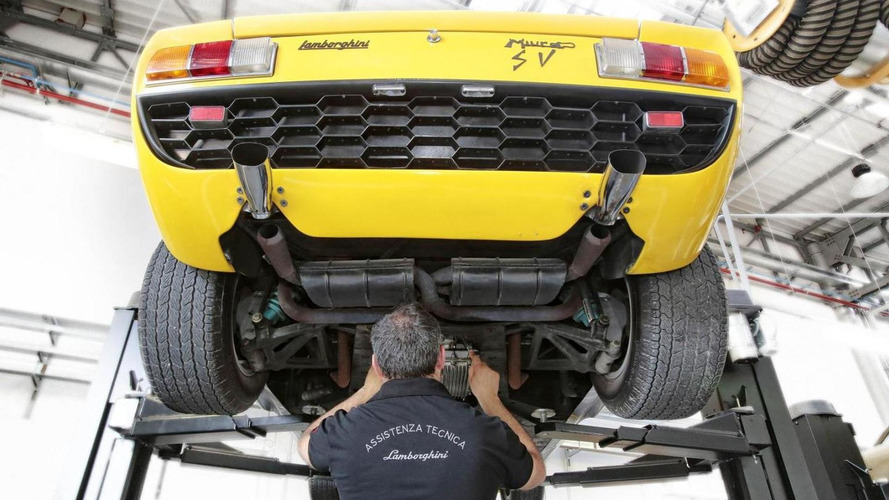 Lamborghini Polo Storico restoration & heritage center announced