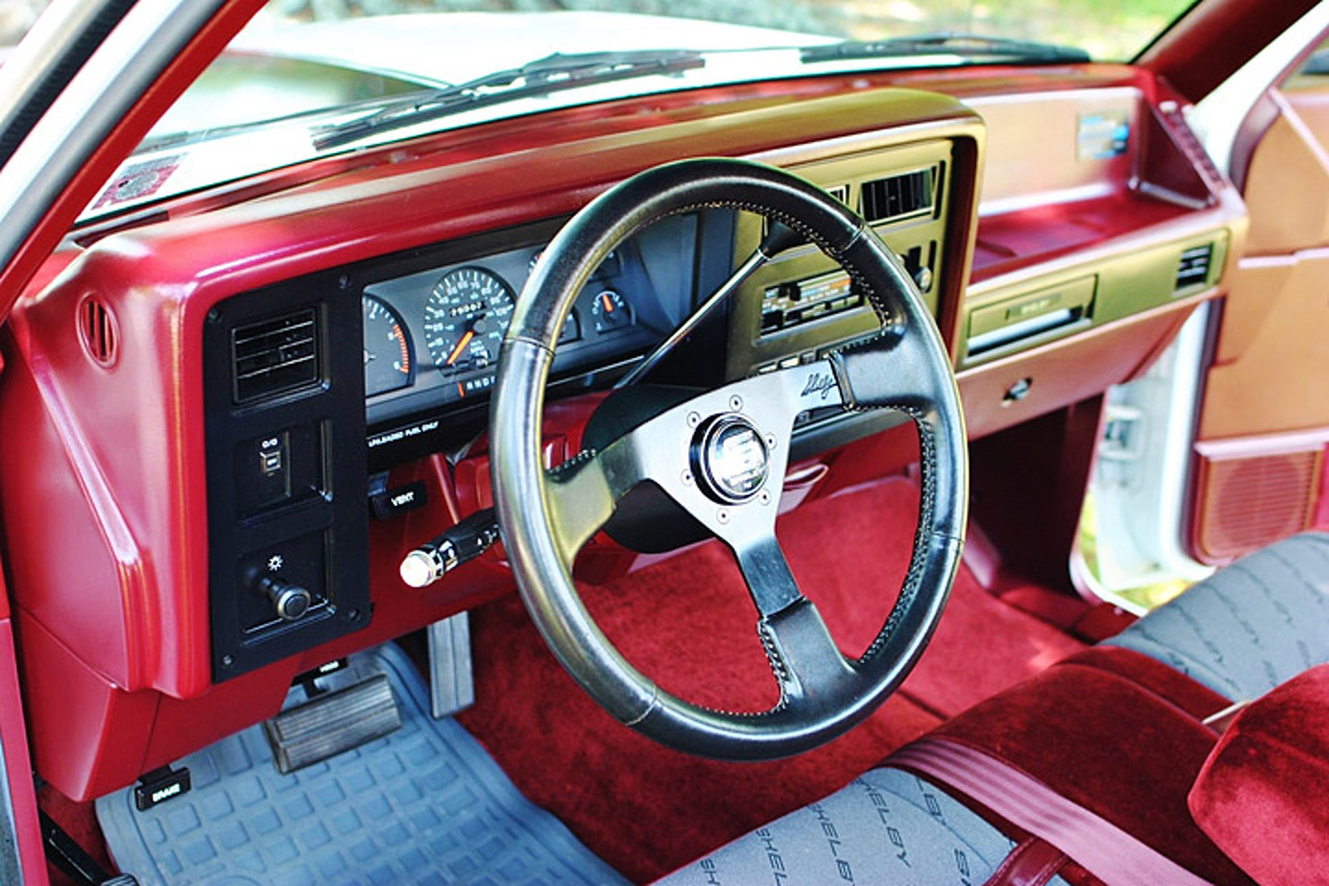 Rare Shelby Dakota Is A Mile Survivor on 1991 Dodge Dakota Interior