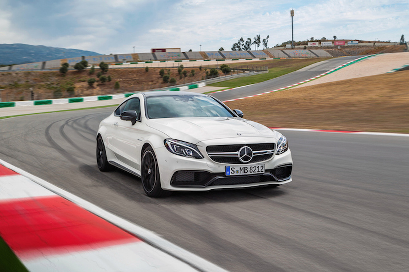 2017 Mercedes-AMG C63 Coupe Looks Better, Goes Faster