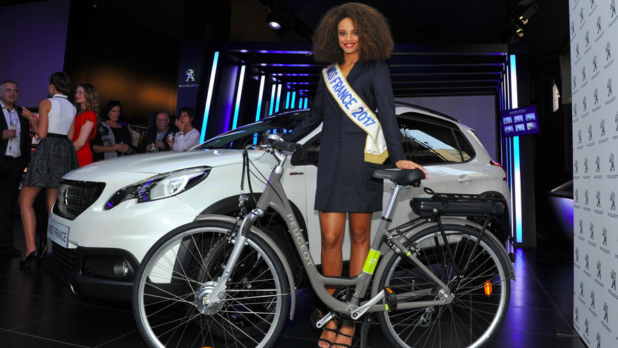 Miss France en Peugeot 2008