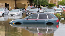 Flood Damage Porsche Cayenne