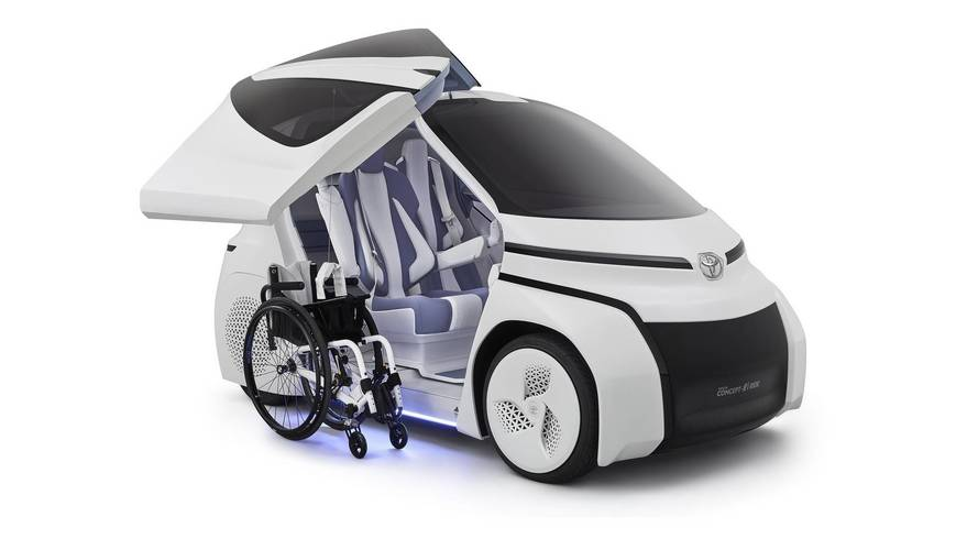 Toyota Concept-i Ride is a city car of the future