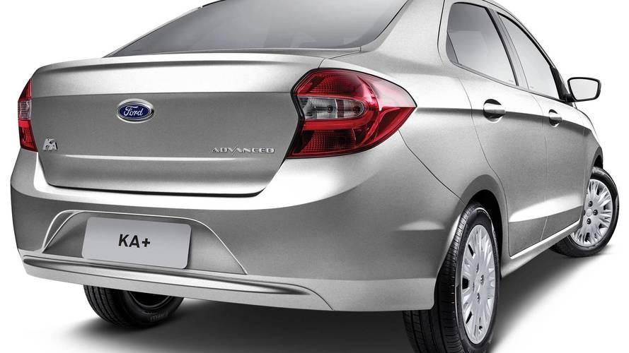 Ford Ka+ agora é Ka Sedan para seguir regra global da marca