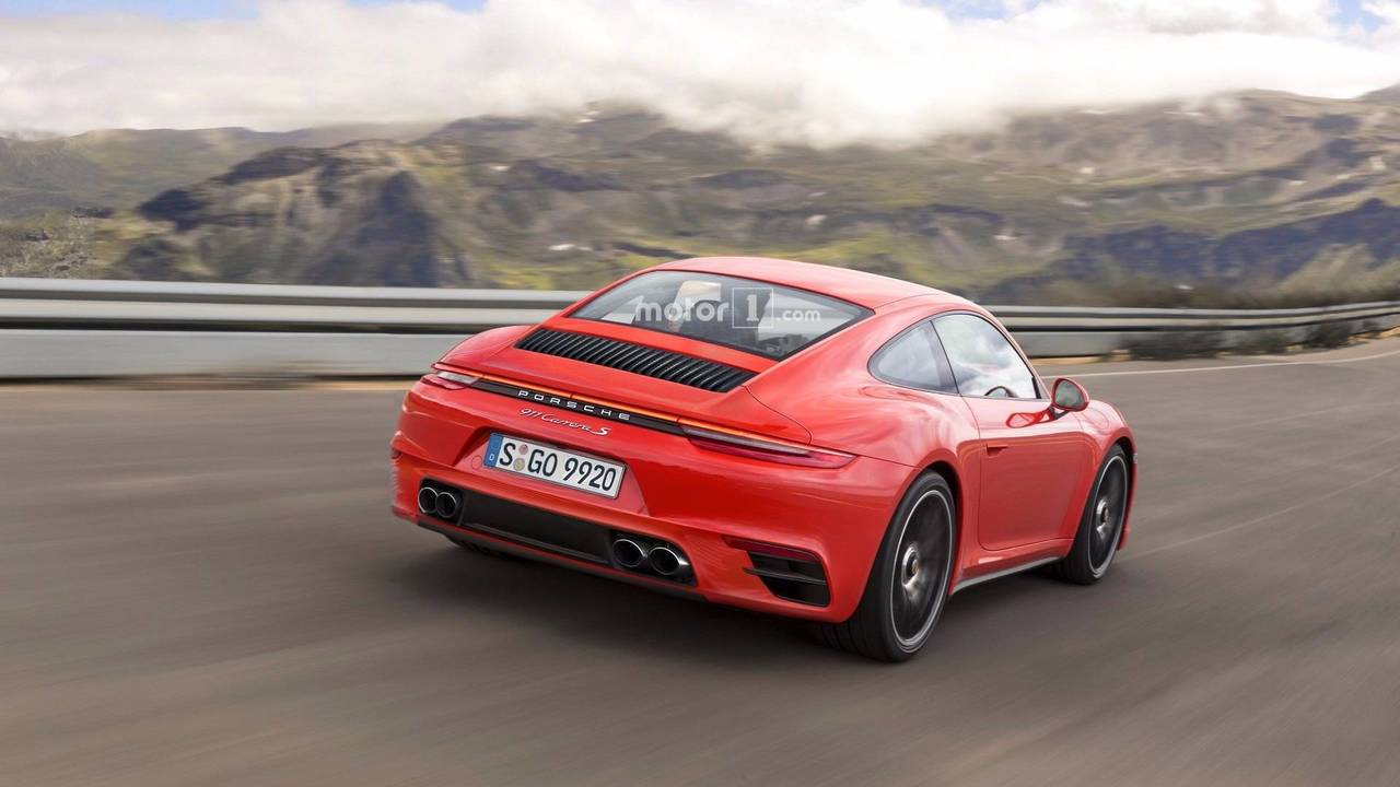 Nuevo Porsche 911 renders