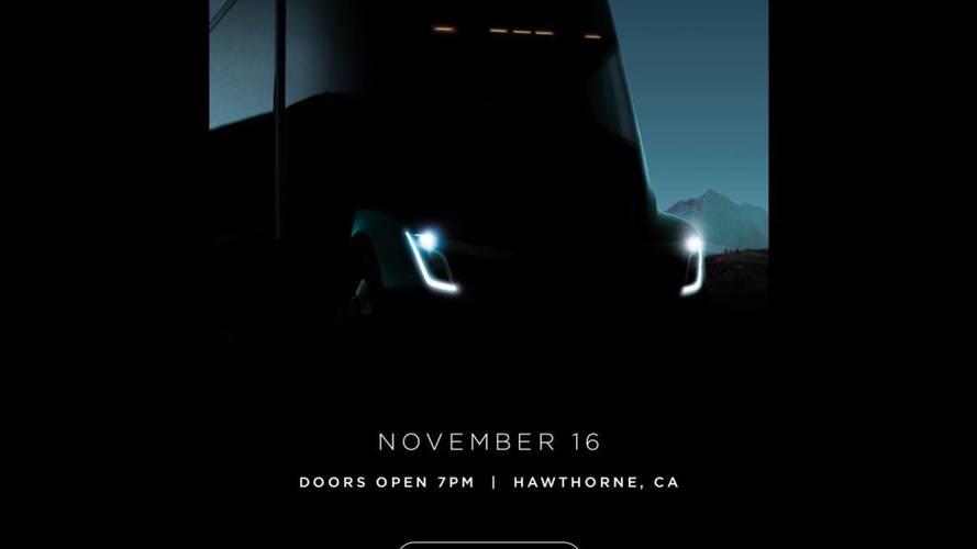 Tesla Semi'nin yeni teaser'ı geldi