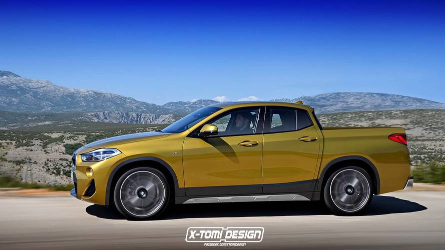 BMW X2 Gets Controversial Cabrio And Pickup Imaginary Conversions