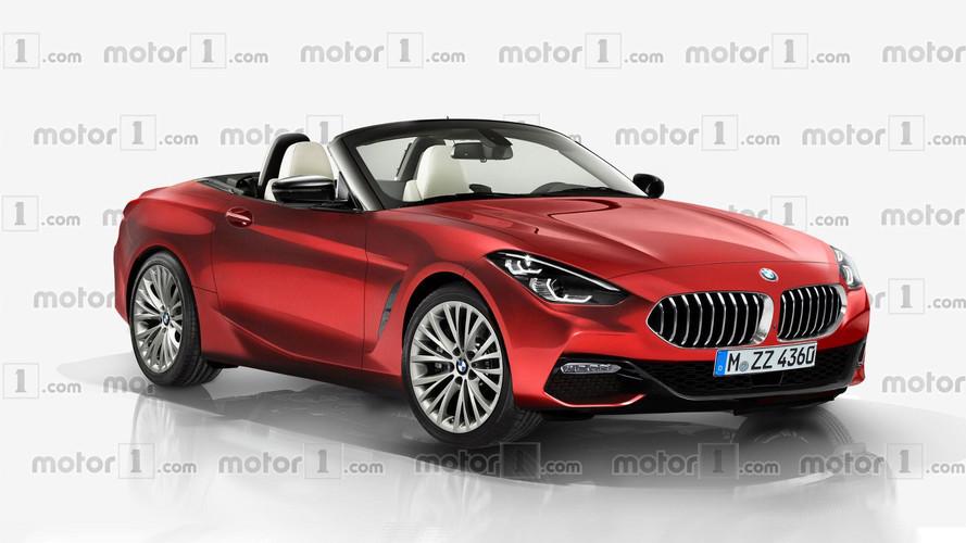 Render BMW Z4 2018, ¿será así el coche de producción?