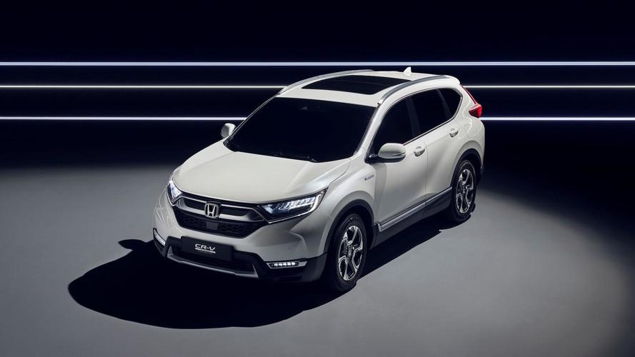 Honda CR-V Hybrid, adelanto de un SUV ecológico