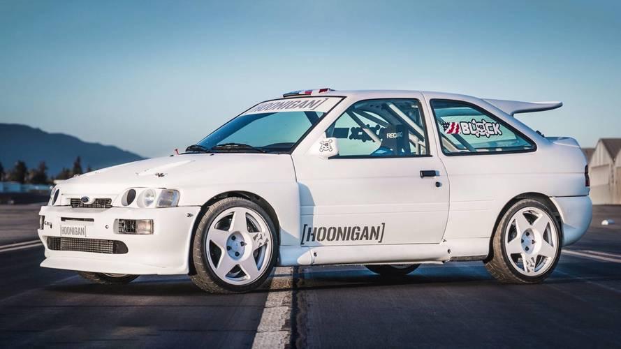 VIDÉO - Une Ford Escort RS Cosworth pour Ken Block !