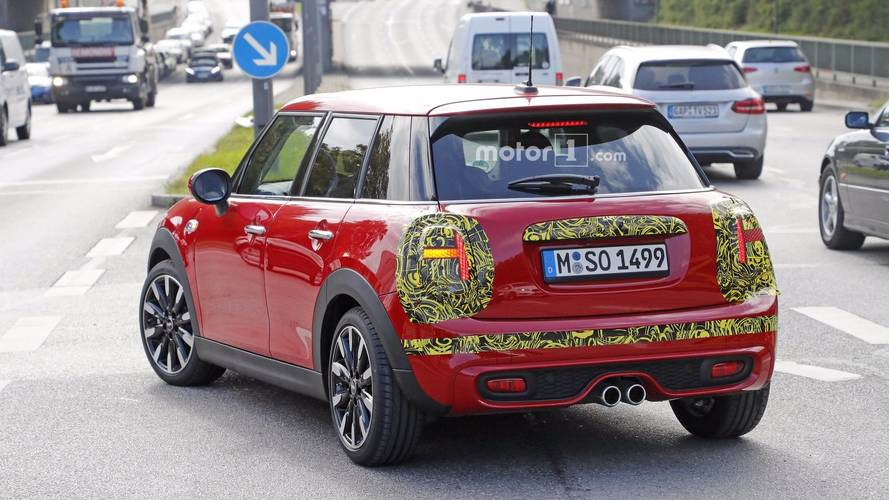 2018 Mini Cooper S spotted with Union Jack rear lights