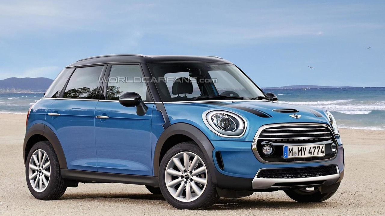 Second Generation Mini Countryman Render Shows Plausible