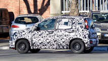 2017 Fiat Panda facelift spy photo