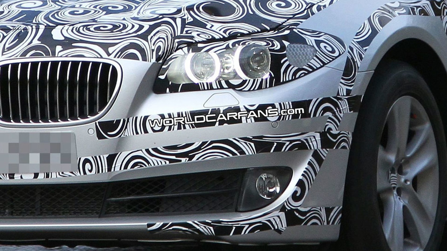 2011 BMW 5 Series F10 Spied in Silver