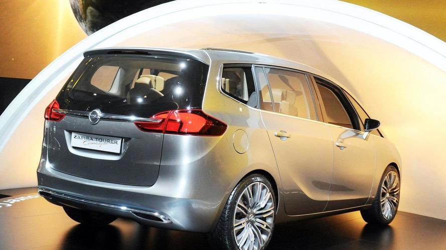 Opel Zafira Concept takes center stage at Geneva