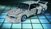 Frank Stella (USA) 1976 BMW 3.0 CSL art car