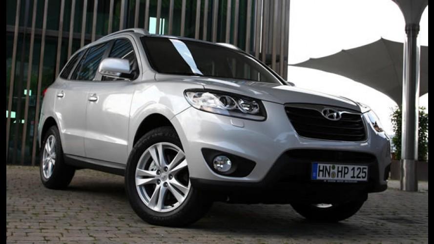 Hyundai Santa Fé 2011 com novidades visuais e novos motores chega ao Brasil sem alarde
