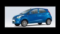 Hyundai revela primeiras imagens de novo modelo de baixo custo Eon na Índia