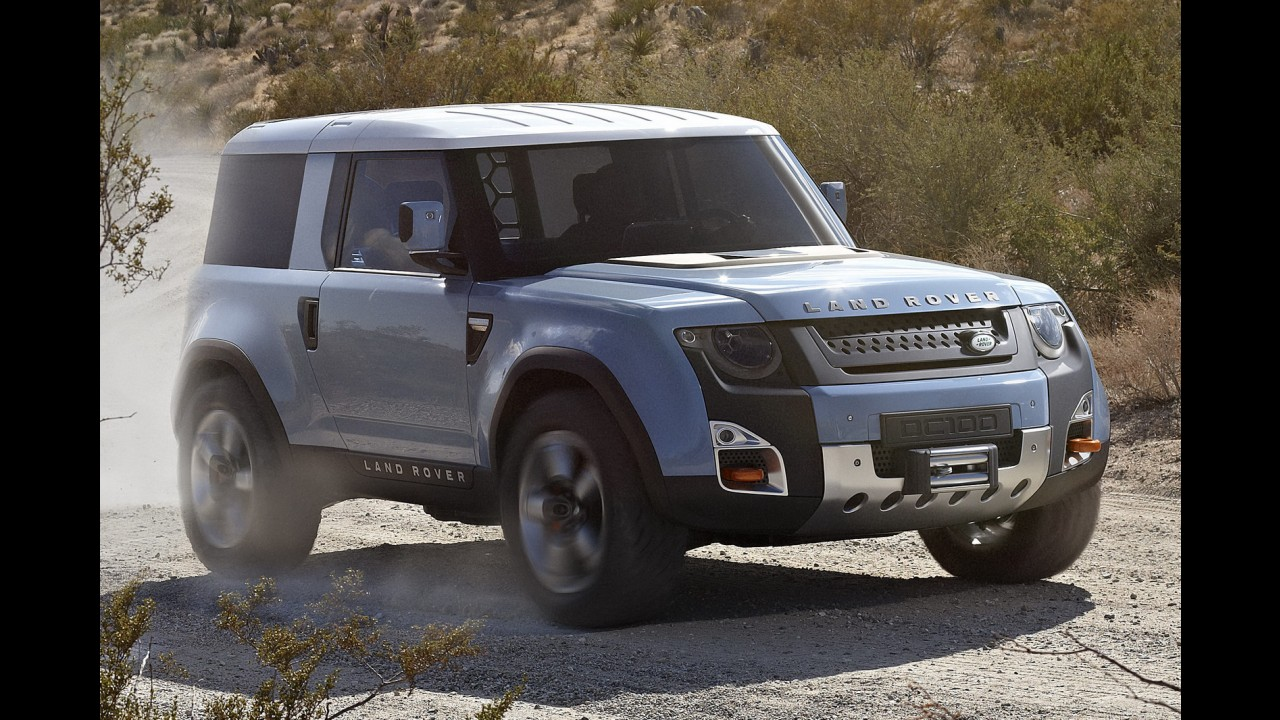 Land Rover diz que DC100 Concept não será o sucessor do Defender