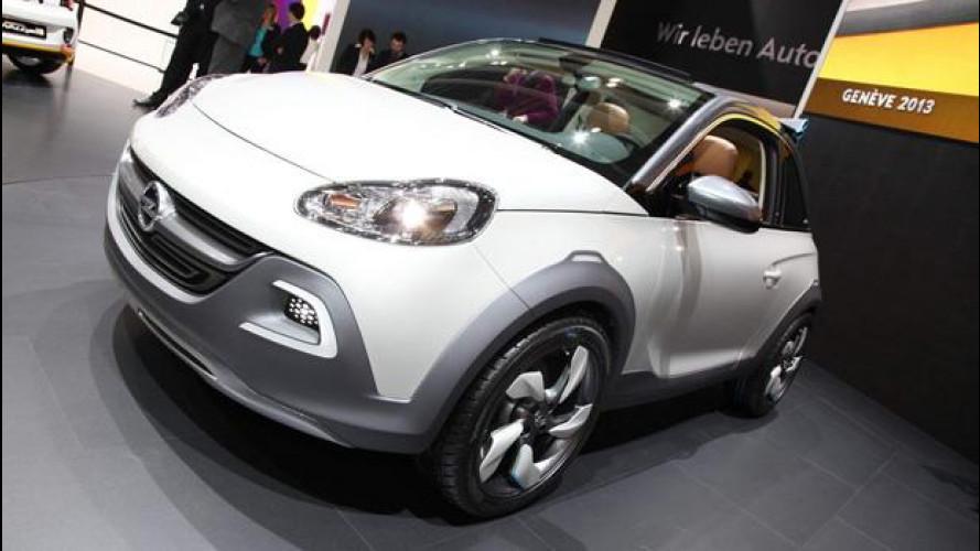Salone di Ginevra: Opel Adam ROCKS Concept, non chiamatela