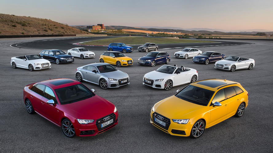 Gama S de Audi 2017