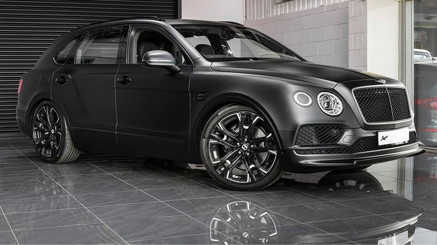 Kahn'ın Bentley Bentayga modeli simsiyah