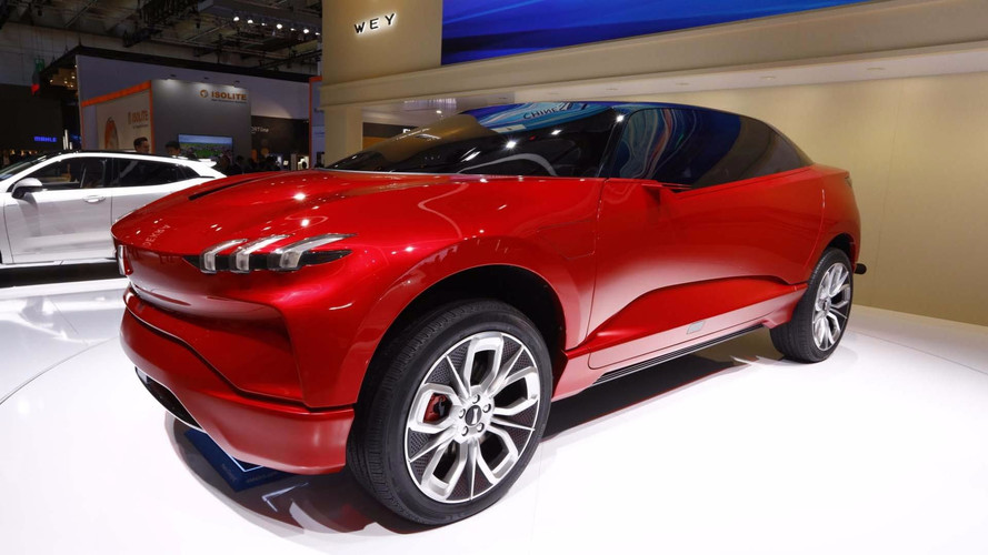 Chinese Automaker Wey Debuts Gullwing XEV Concept In Frankfurt