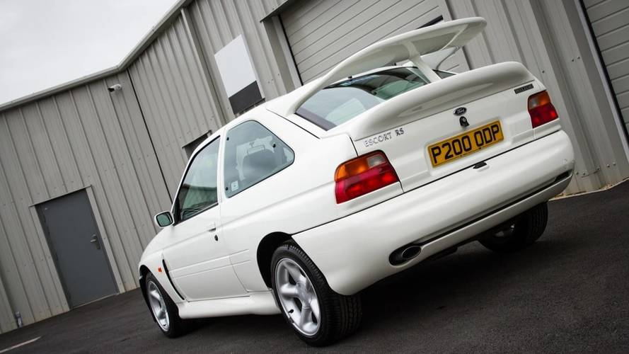 ¿Pagarías 100.000 euros por un Ford Escort RS Cosworth?