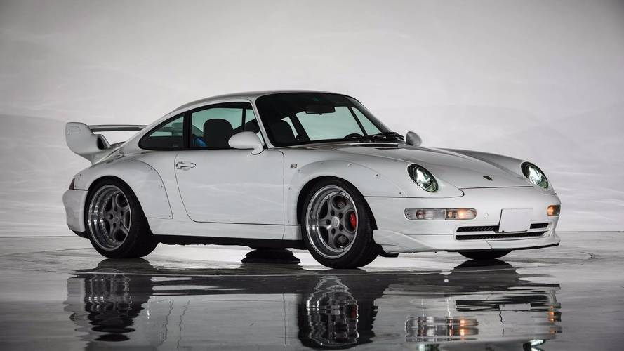 Un increíble Porsche 911 GT2, de 1996, a subasta