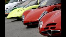Alfa Romeo TZ2, 33 Stradale e Pininfarina