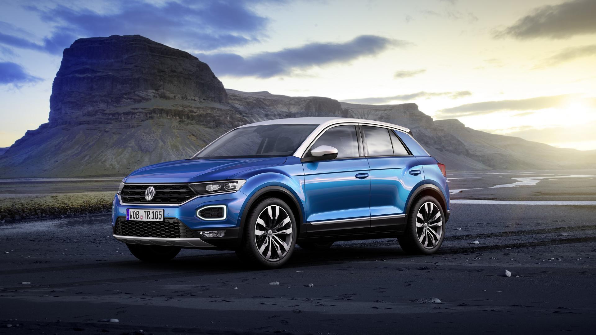 Mini Supercars For Sale >> Volkswagen Reveals New T-Roc SUV