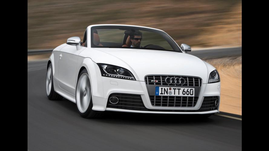 Audi TT RS: arriva il cambio S tronic a 7 rapporti