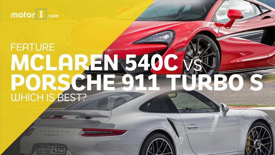 McLaren 540C vs Porsche 911 Turbo S: Sports Cars Or Supercars?