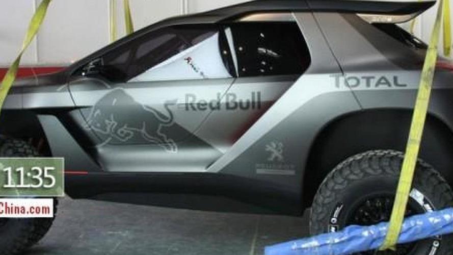 Peugeot 2008 DKR shows its metal in Beijing