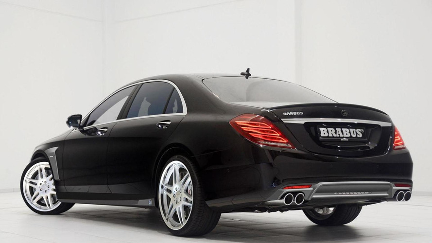 Brabus tunes the 2014 Mercedes S-Class