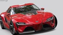 Toyota FT-1 concept in Gran Turismo 6