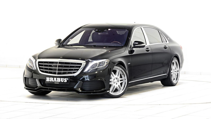 Brabus boosts the Mercedes-Maybach S600 to 900 PS