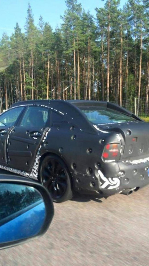 Volvo S90 spied testing on public roads