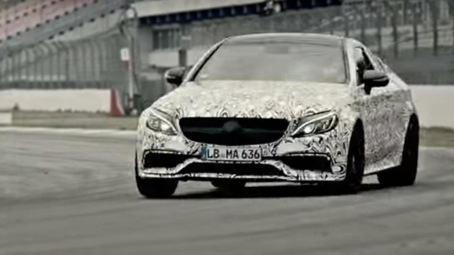 Mercedes-AMG C63 Coupe roars its V8 engine in yet another teaser video