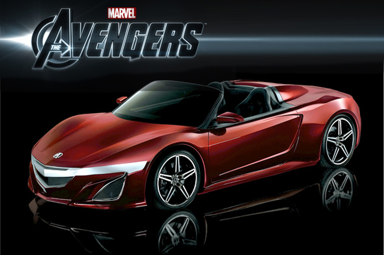 Most Popular: Acura prototype featured in The Avengers