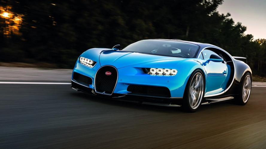 Bugatti Chiron can rip from 0-250-0 mph in under a minute