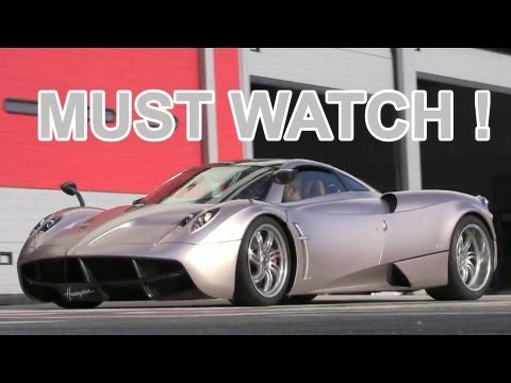 Pagani Huayra Sound - Start, Rev, Accelerations and Fly Bys