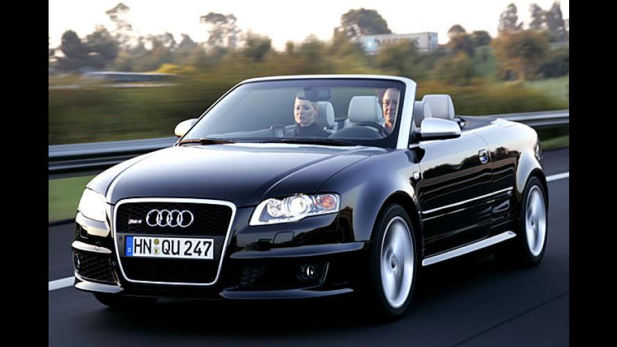 Audi RS4 Cabriolet: Oben ohne und höllisch schnell