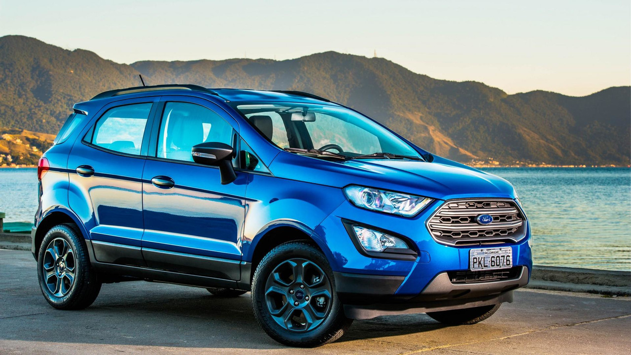 ford ecosport freestyle 2018 fotos. Black Bedroom Furniture Sets. Home Design Ideas
